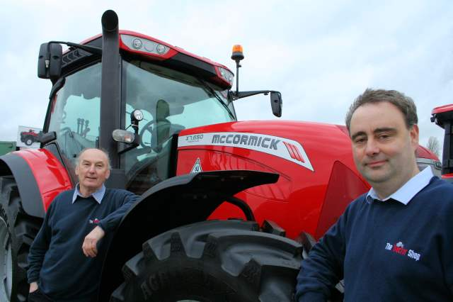 McCormick tractors - New dealer The Tractor Shop