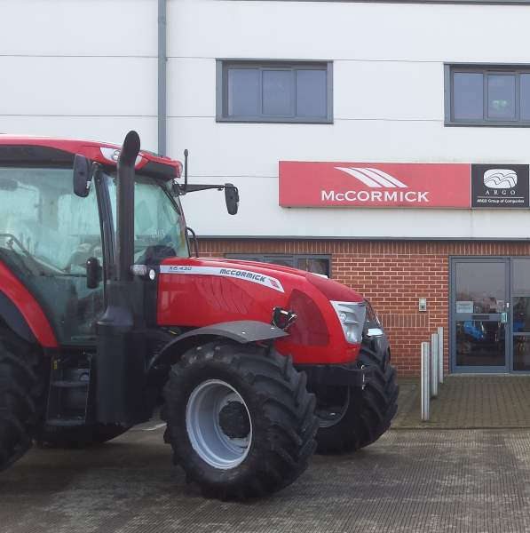 McCormick tractors new distribution arrangements throughout Ireland