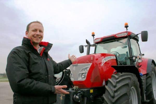 McCormick X7-660 Tractor Mark Baker Engineering