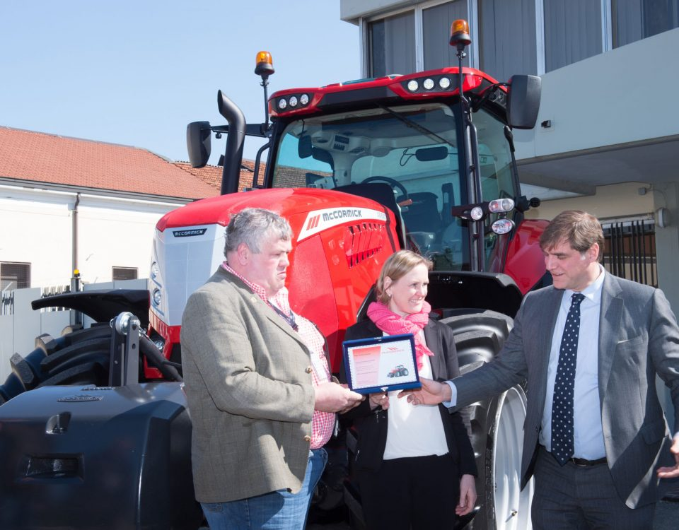 McCormick tractors attract buyers in Germany