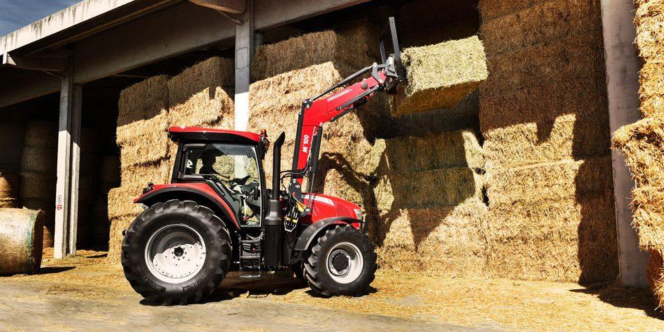 McCormick front loader tractors