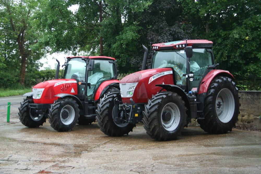 McCormick tractors at Venture Farm Machinery, Kettering, Northants.