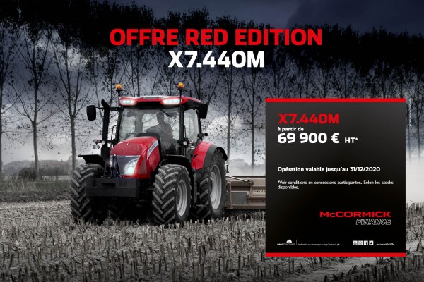 Offre Red Edition