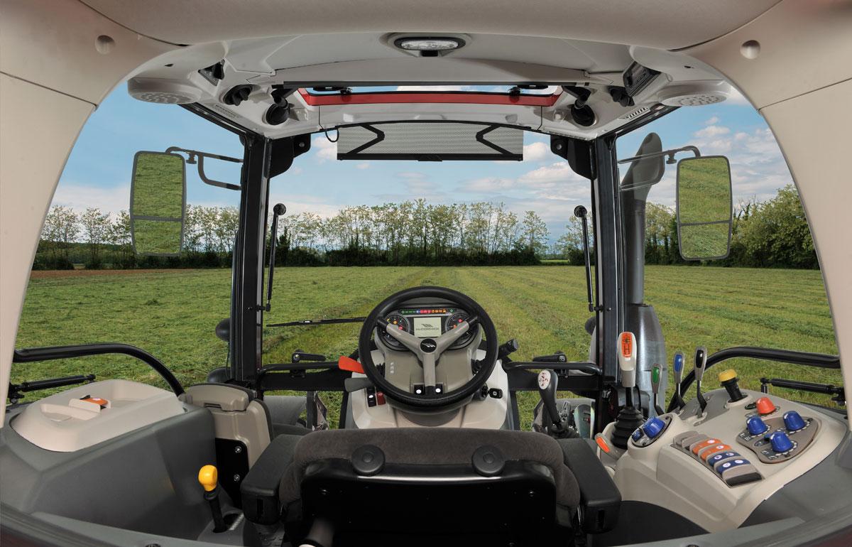 Cabina Deluxe Slim trattori McCormick X6