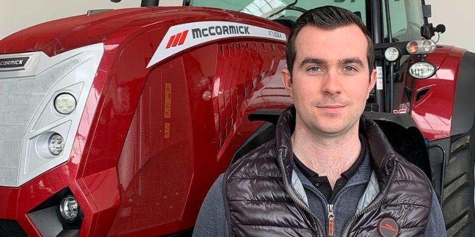 Jacky hamon Commercial tracteurs chez Argo France auprès de nos concessionnaires McCormick