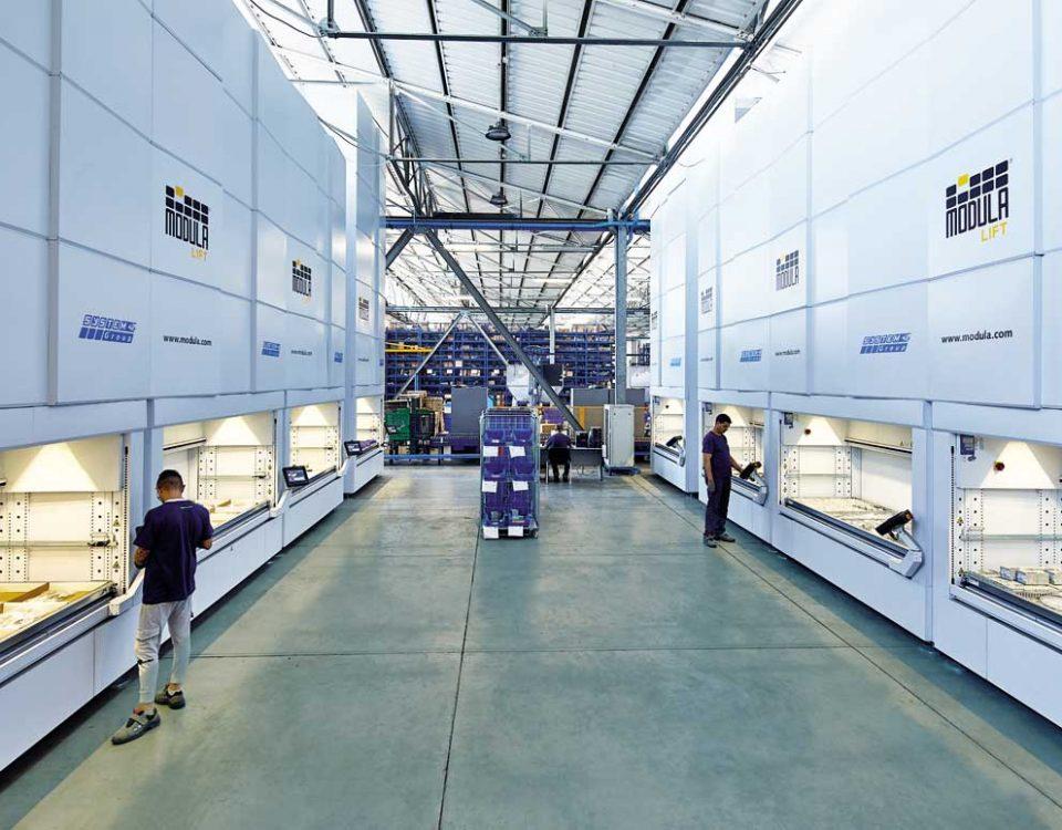 Automation and digitalisation: McCormick spare parts logistics