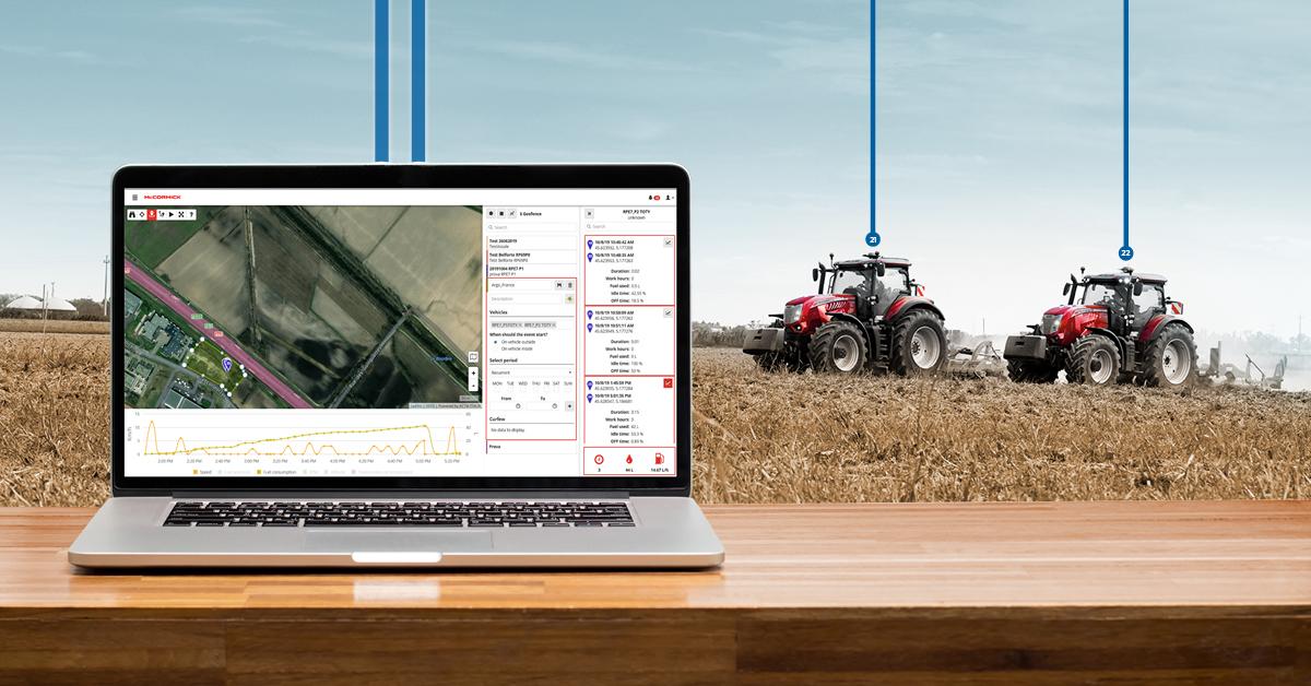telemetria fleet management agricoltura sostenibile
