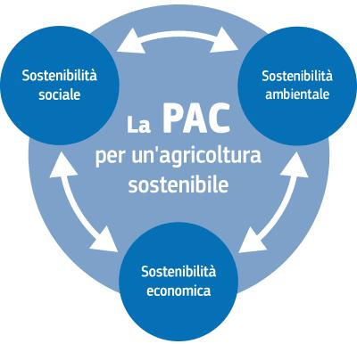 PAC Politica agricola comune agricoltura sostenibile